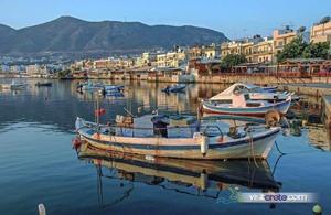 Crete Destination: Hersonissos port, Heraklion