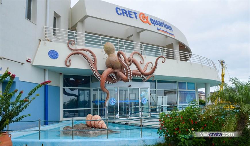 """Aquarium Of Crete """"Thalassokosmos - Cretaquarium"""" (Gournes Heraklion)"""