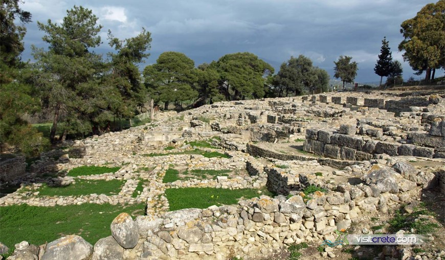 Archaeological Site Of Agia Triada (Tympaki, Crete)