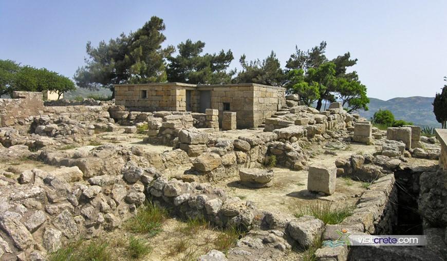 Archaeological Site Of Vathypetro Archanes Crete