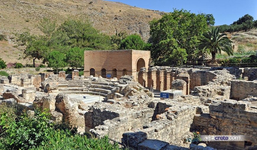 Archaeological Site Of Gortyna Crete