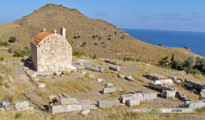 Archaeological Site Of Levina Crete