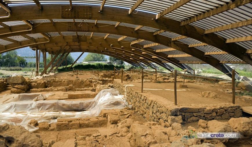 Archaeological Site Of Malia Crete
