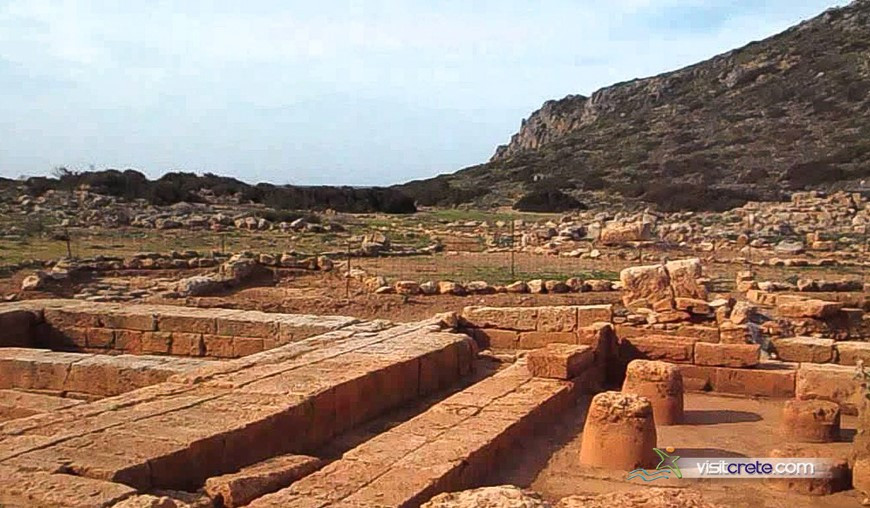 Archaeological Site Of Falasarna Crete