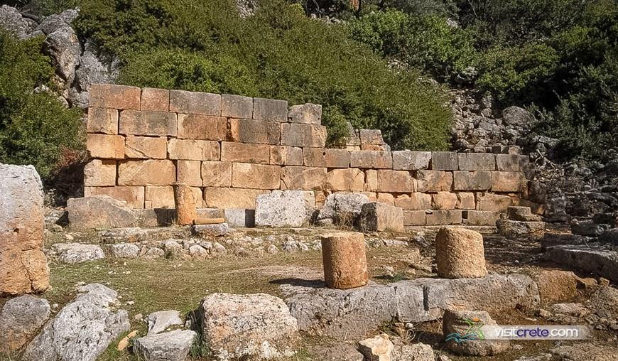 Archaeological Site Of Lissos Chania Crete