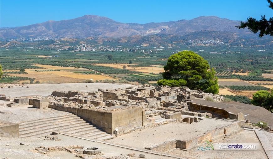 Archaeological Site Of Phaistos Crete