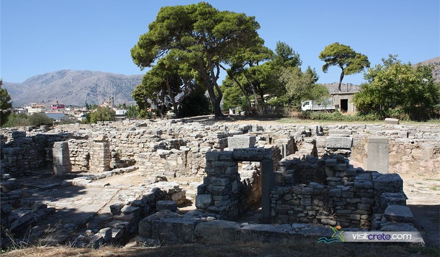 Archaeological Site Of Tylissos Crete
