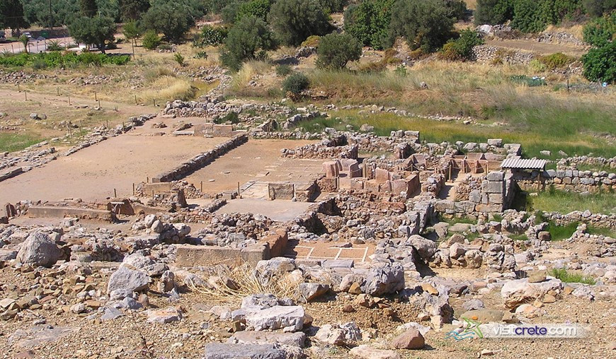 Archaeological Site Of Zakros Crete