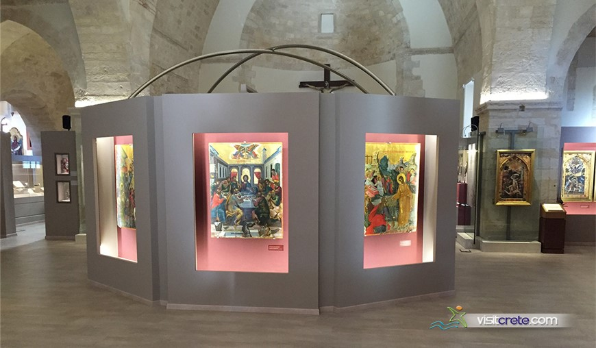 Museum Of Icons And Heirlooms Of The Holy Archdiocese Of Crete - Collection Of St.Catherine Of Sinai