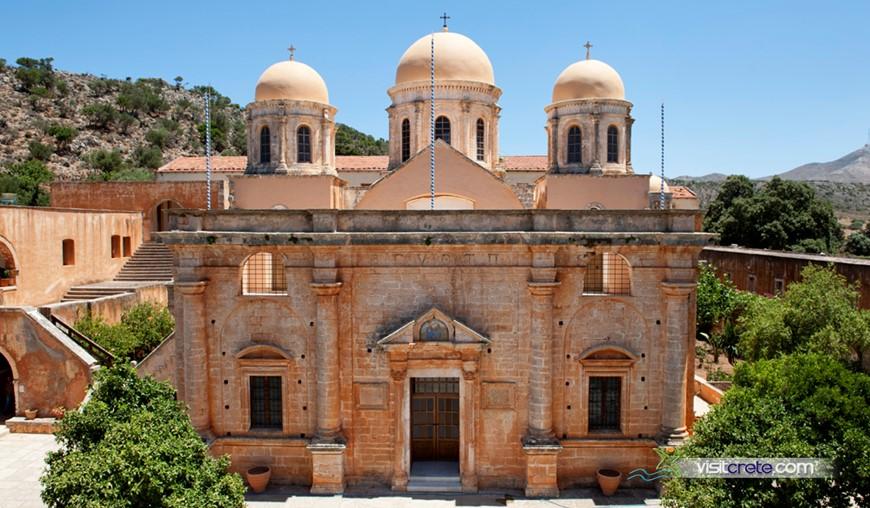 Ecclesiastical Museum Of Agia Triada (Tzagkarolon) Monastery