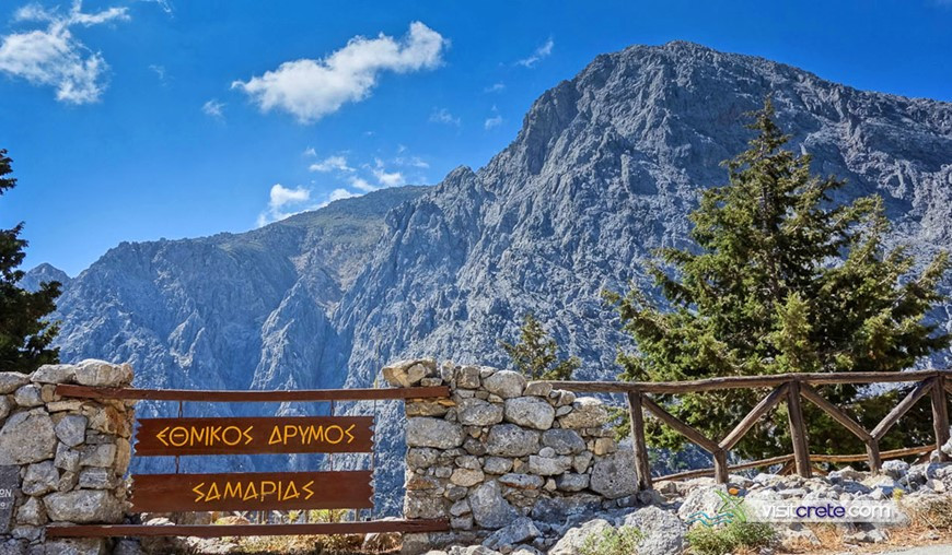 Samaria Gorge open gates 2018