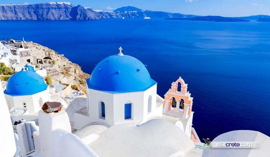 Santorini One Day Cruises from Crete