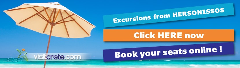 Book online Excursions from HERSONISSOS CRETE
