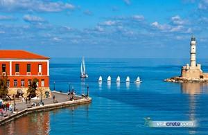 Crete: Chania old port