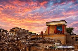 CRETE: Knossos Palace