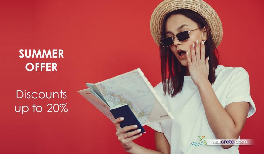 VisitCrete Excursions Summer Offer 2021